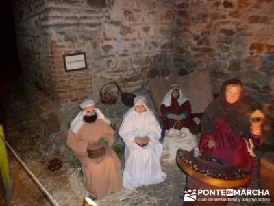 Senderismo Sierra Norte Madrid - Belén Viviente de Buitrago; senderos valencianos